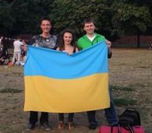 День Украинского национального флага в Берлине