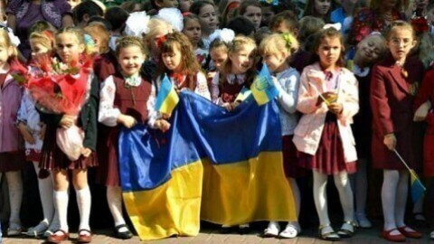 Let's have a festive first day of school for the children from eastern Ukraine!
