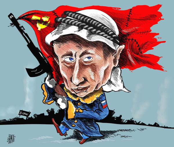 putin has decided to battle the united states
