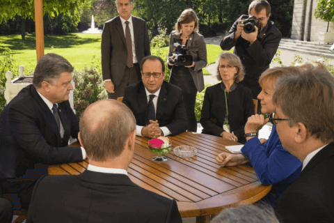 What Ukrainians think of Normandy Four Paris talks