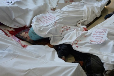 Court hearing on the murders committed during Euromaidan protests