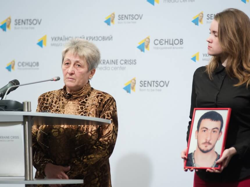 Mother of Serhiy Novitsky who went missing during Euromaidan has no information on his whereabouts until now. Photo: uacrisis.org