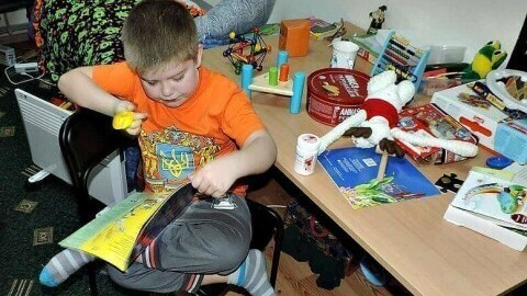Support 7-year-old autistic boy from eastern Ukraine