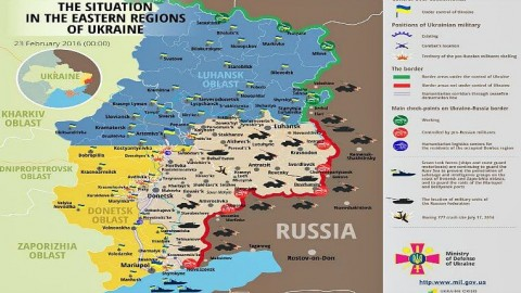 Ukraine war updates: daily briefing as of February 23, 2016