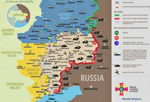 Ukraine war updates: daily briefing as of February 24, 2016