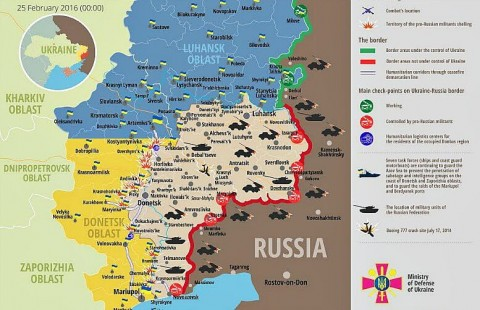 Ukraine war updates: daily briefing as of February 25, 2016