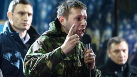 Hand grenade thrown at Ukrainian MP Volodymyr Parasyuk in the central Kyiv