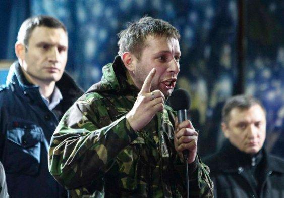 hand grenade thrown at ukrainian mp volodymyr parasyuk Hand grenade RGD-5 thrown at the former famous Euromaidan activist and current Member of Ukrainian Parliament Volodymyr Parasyuk in the central Kyiv today