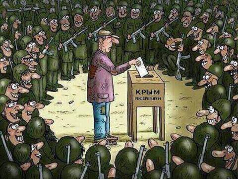 """EMPR Video Chronicles """"Occupied Crimea"""": March 16, 2014"""