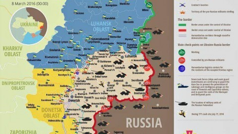 Ukraine war updates: daily briefings as of March 8, 2016