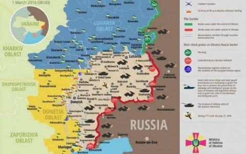 Ukraine war updates: daily briefing as of March 1, 2016