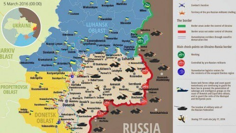 Ukraine war updates: daily briefing as of March 5, 2016