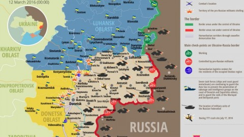 Ukraine war updates: daily briefings as of March 12, 2016
