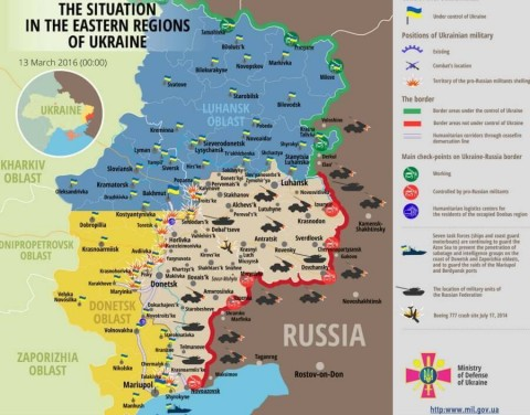 Ukraine war updates: daily briefings as of March 13, 2016