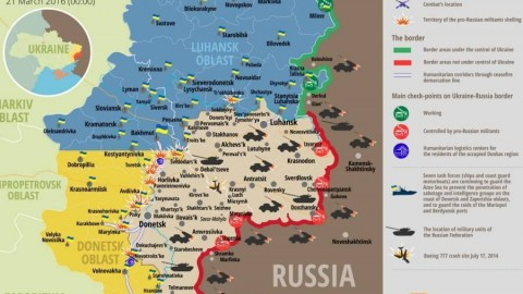 Ukraine war updates: daily briefings as of March 21, 2016