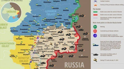 Ukraine war updates: daily briefings as of March 23, 2016