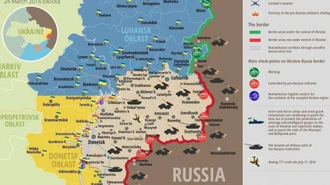 Ukraine war updates: daily briefings as of March 24, 2016