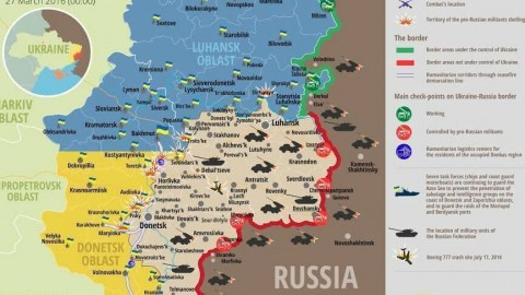 Ukraine war updates: daily briefings as of March 27, 2016