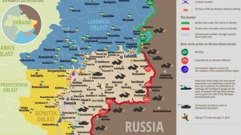 Ukraine war updates: daily briefings as of March 29, 2016