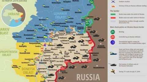 Ukraine war updates: daily briefings as of March 30, 2016