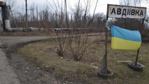 Ukrainian positions in Avdyivka under massive Russian attack