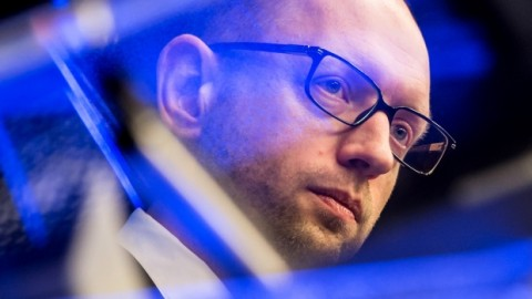 Ukraine Prime Minister Arseniy Yatsenyuk has just resigned