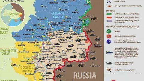 Ukraine war updates: daily briefings as of April 2, 2016