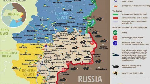 Ukraine war updates: daily briefings as of April 4, 2016