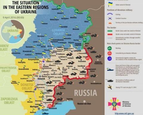 Ukraine war updates: daily briefings as of April 9, 2016