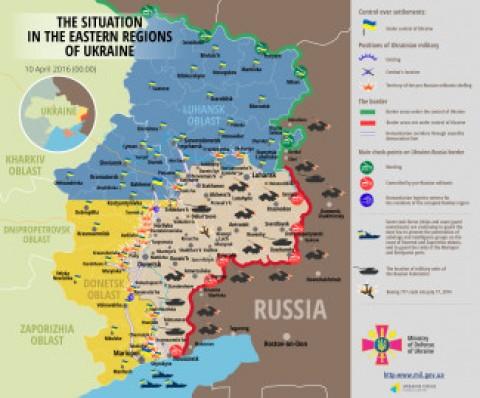 Ukraine war updates: daily briefings as of April 10, 2016