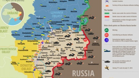 Ukraine war updates: daily briefings as of April 11, 2016