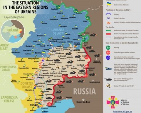 Ukraine war updates: daily briefings as of April 11, 2016