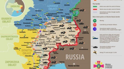 Ukraine war updates: daily briefings as of April 19, 2016