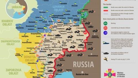 Ukraine war updates: daily briefings as of April 19, 2016