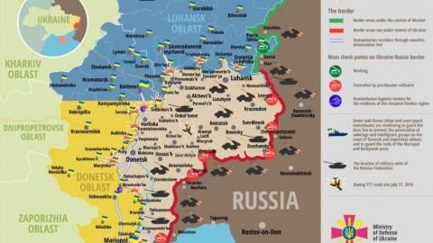Ukraine war updates: daily briefings as of April 22, 2016