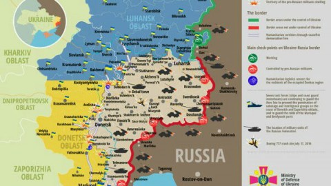 Ukraine war updates: daily briefings as of April 24, 2016