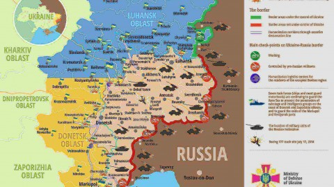 Ukraine war updates: daily briefings as of April 25, 2016