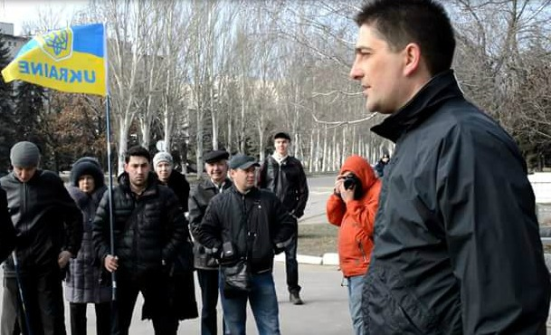 To the memory of Volodymyr Rybak two years since the murder A member of the city council in Horlivka Volodymyr Rybak was abducted by the Russian proxies and eventually found near Sloviansk with a gutted stomach april 2014