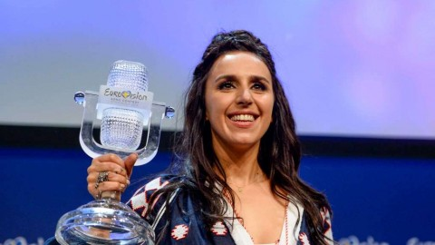 Trending Ukraine: Crimean girl Jamala beats Russia at Eurovision 2016