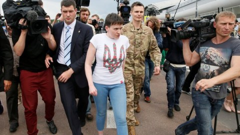 Nadiya Savchenko is free !