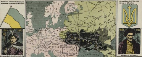 Breaking Russian myths about Ukraine: infographics of 1914-1919