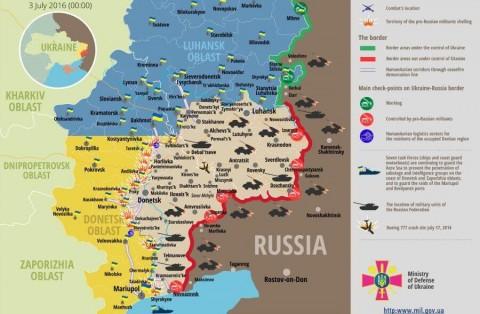 Ukraine war updates: daily briefings as of July 3, 2016