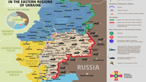 Russia – Ukraine war updates: daily briefings as of June 26, 2017