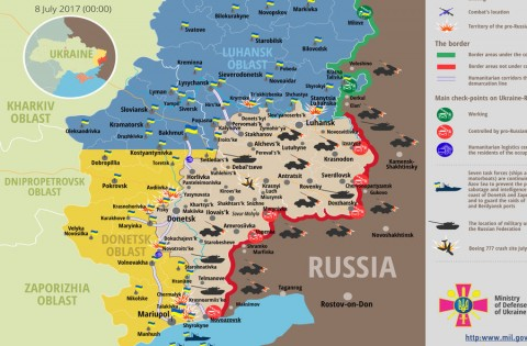 Russia – Ukraine war updates: daily briefings as of July 8, 2017