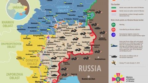 Russia – Ukraine war updates: daily briefings as of July 31, 2017