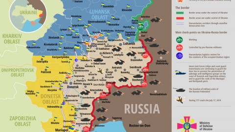 Russia – Ukraine war updates: daily briefings as of August 1, 2017