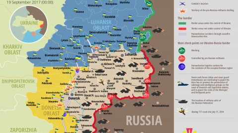 Russia – Ukraine war updates: daily briefings as of September 19, 2017