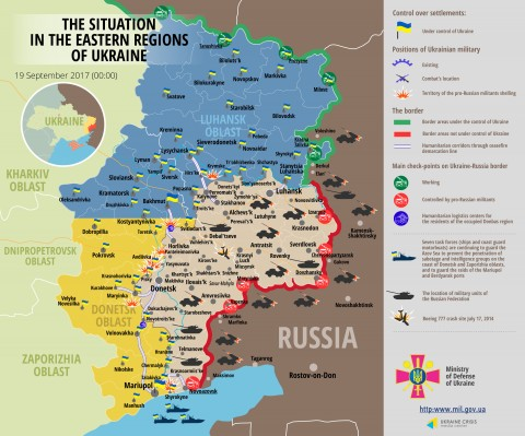 Russia – Ukraine war updates: daily briefings as of September 19, 2017