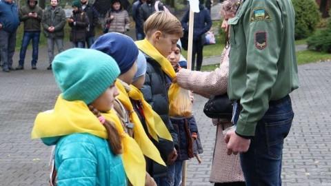 Plast anniversary celebration in the frontline city of Kramatorsk
