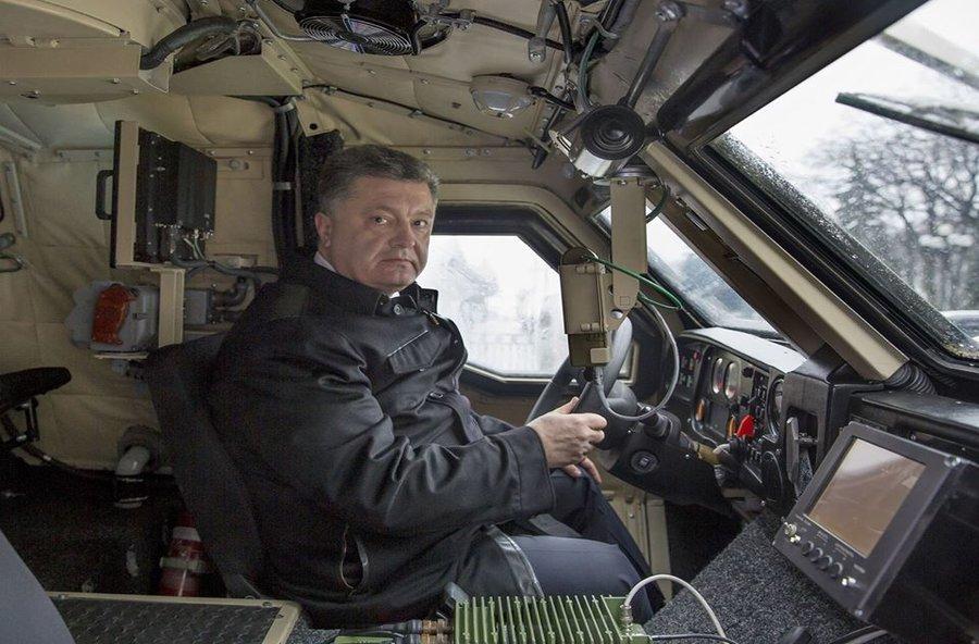 poroshenko kononento kuznya on rybalsky plant corruption military ukraine president